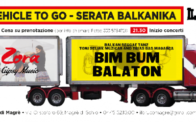 25/10/2014 A LONG VEHICLE TO GO – Serata Balkanika